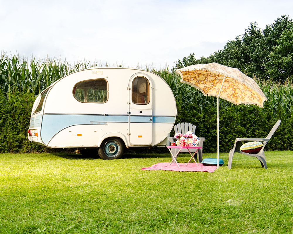 Mini Camping Tesseplekke - Kampeerplek Caravan in Veessen aan de Ijssel en veluwe