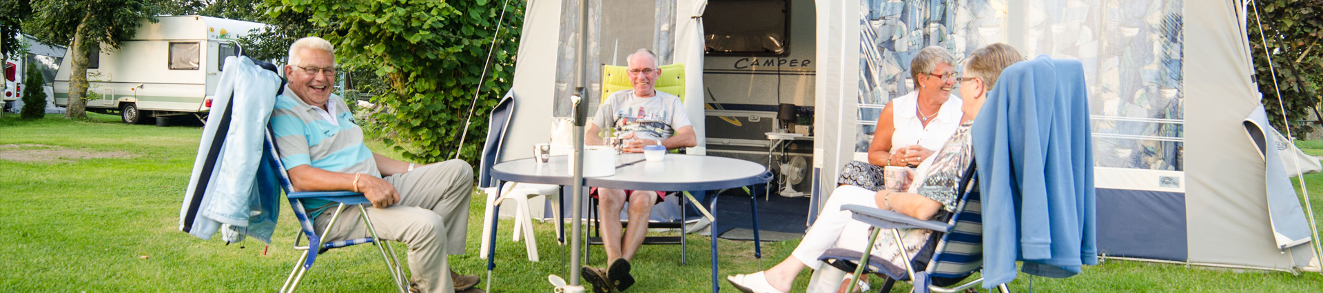 Mini Camping de Tesseplekke - Uitstekende camping voor ouderen