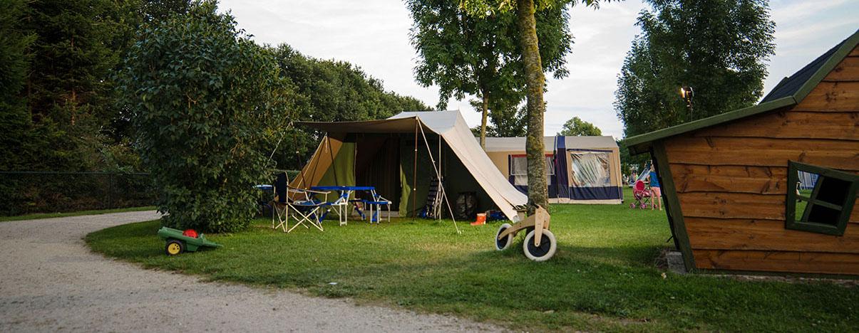 Kampeerplek: Tent